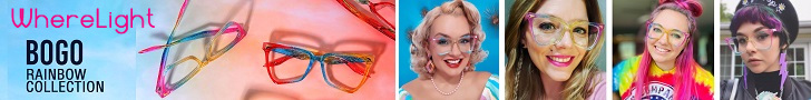 Highlight your personal style with WhereLight Glasses